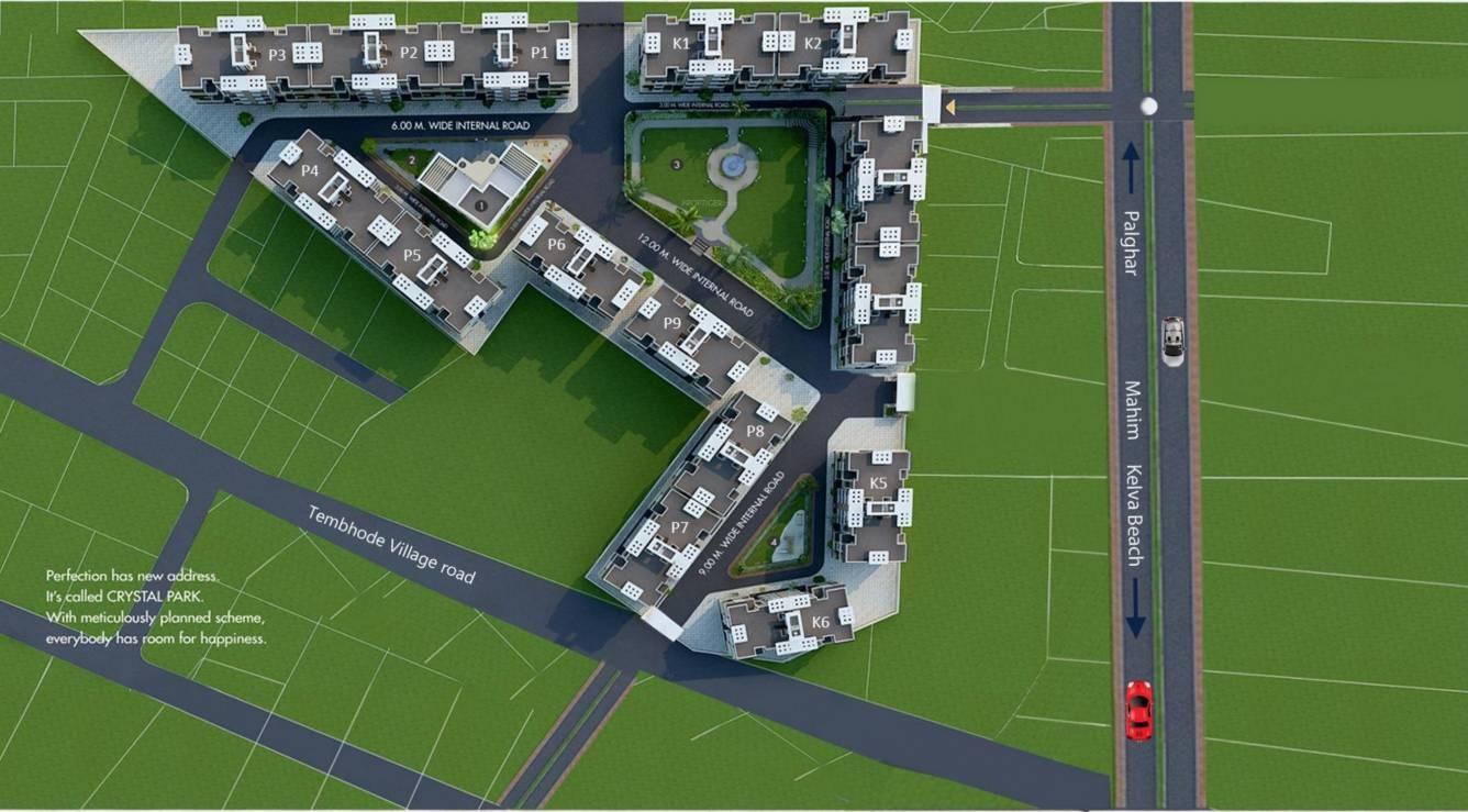 k k crystal park project master plan image1