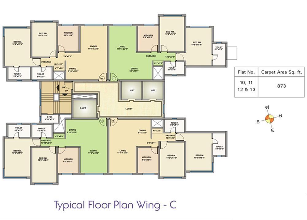 k raheja corp maple leaf project floor plans1