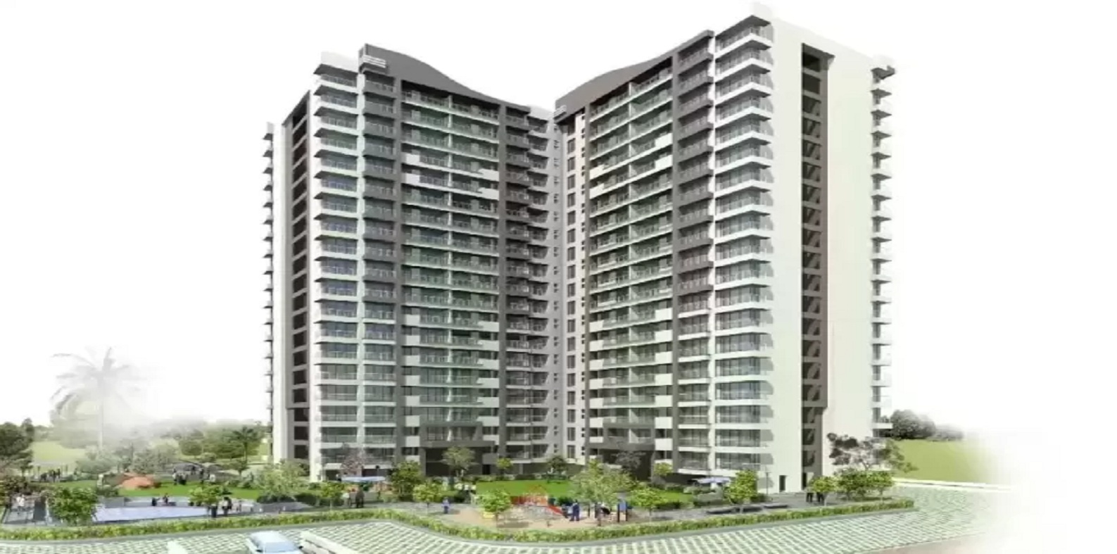 k raheja corp maple leaf project tower view1