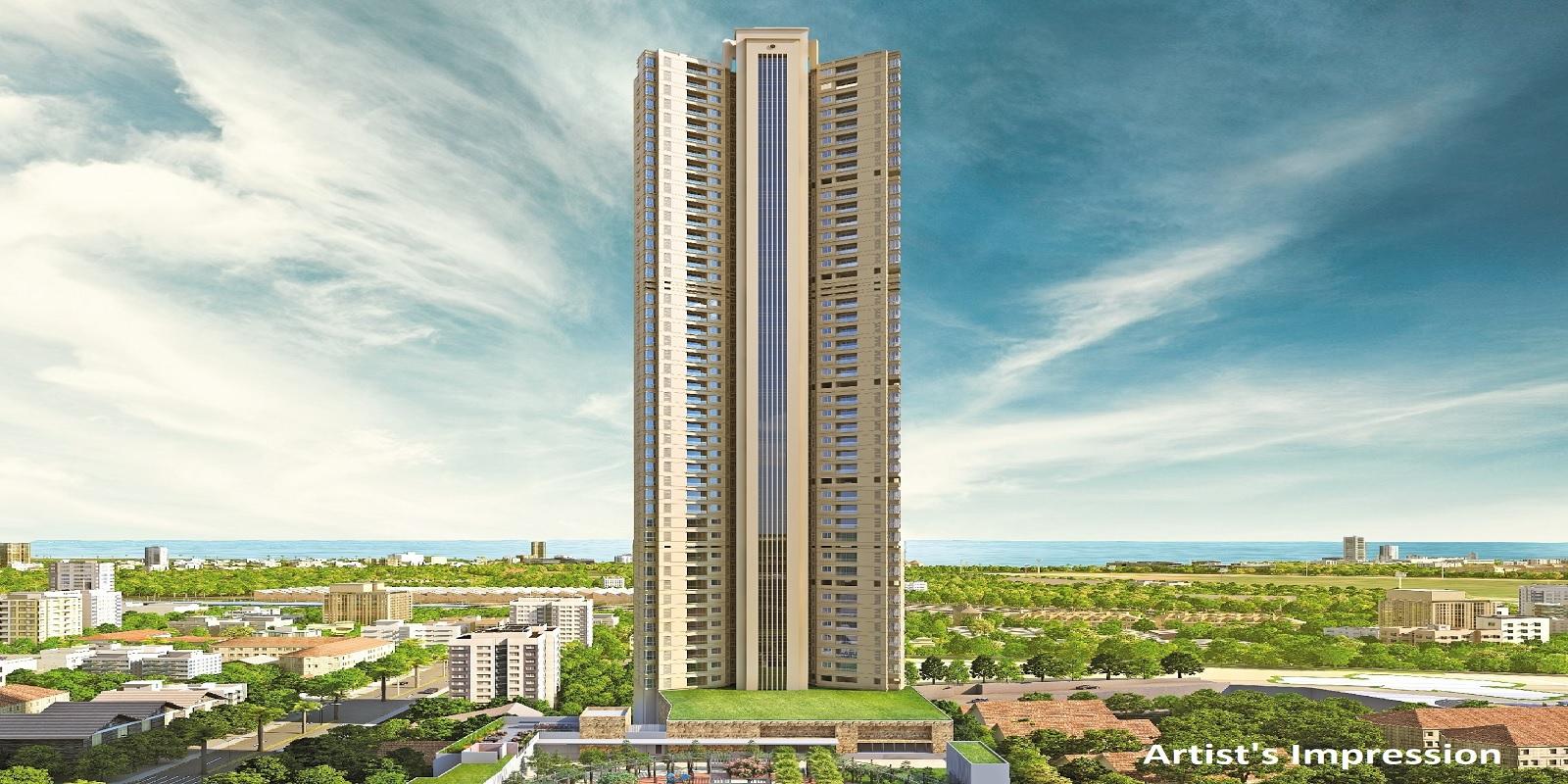 k raheja corp vivarea mumbai project tower view1