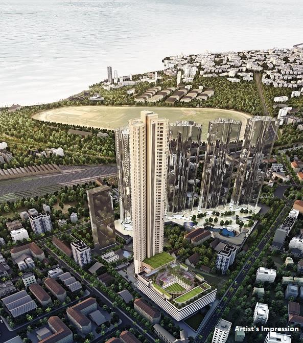 k raheja corp vivarea mumbai project tower view2