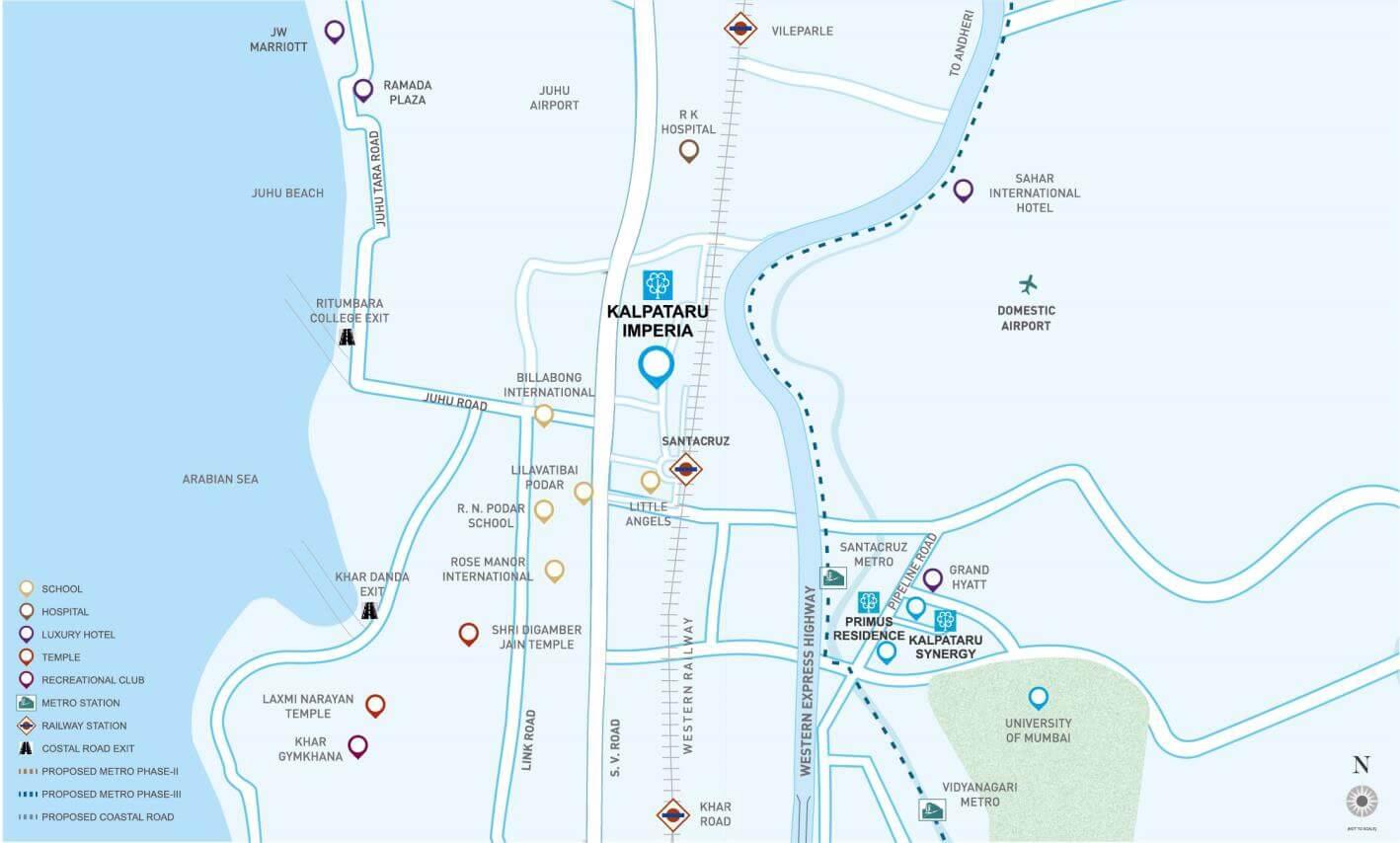 kalpataru imperia location image1