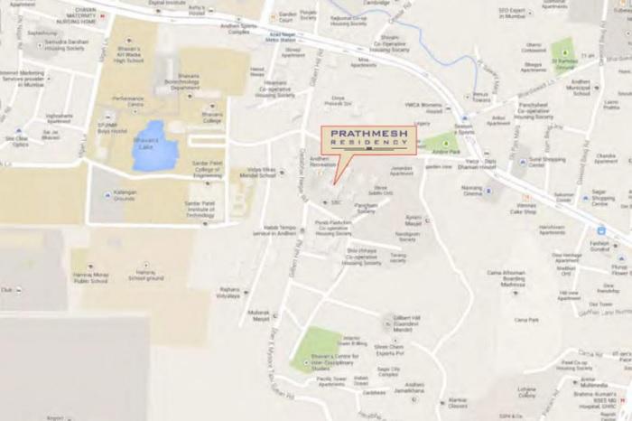 kamla prathamesh residency project location image1