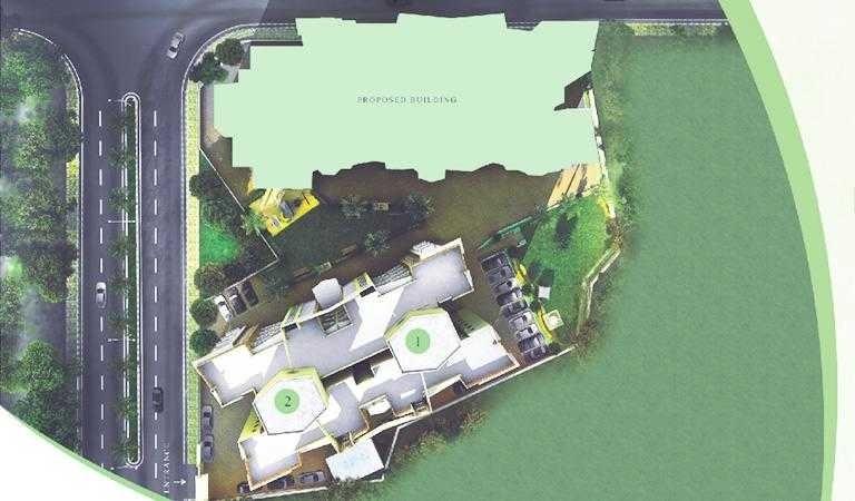 kanakia spaces ananta project master plan image1