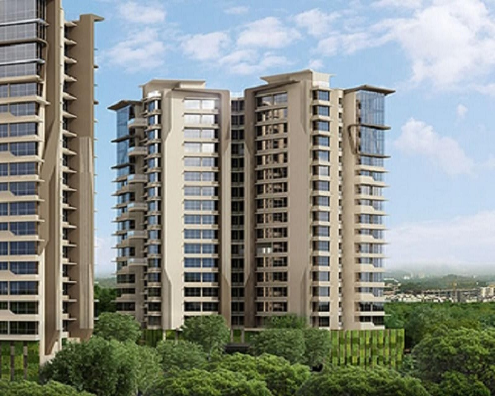 kanakia spaces suman apartments project tower view1