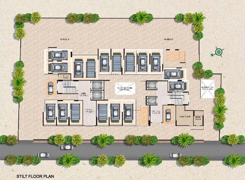 kyraa ariso apartment project master plan image1