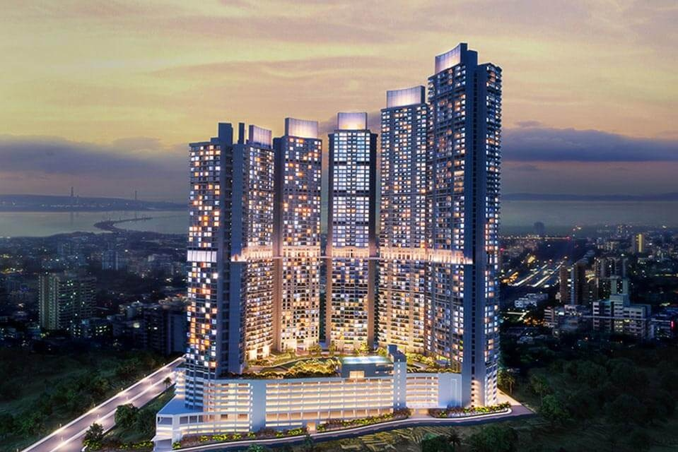 l&t crescent bay t6 project tower view1