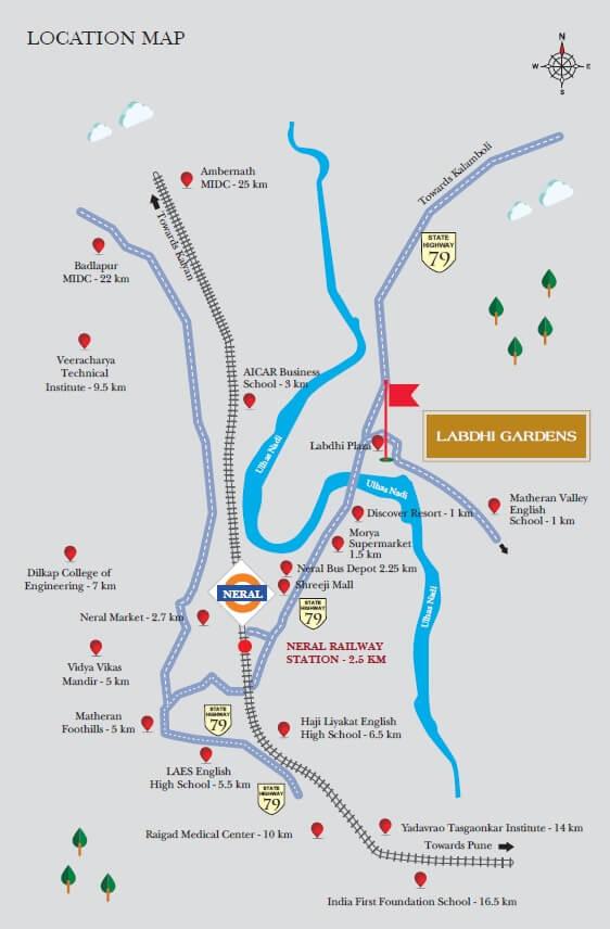 labdhi gardens phase 8 location image7
