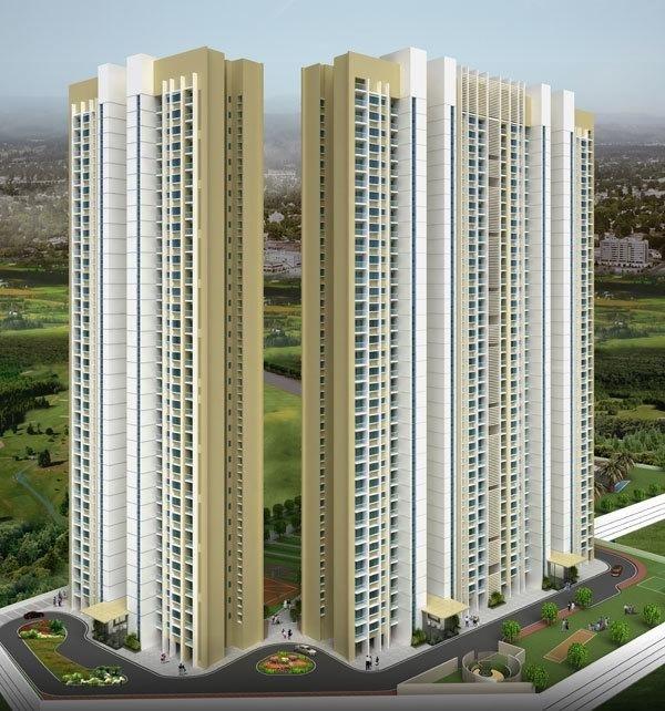 lodha aurum grande project tower view1