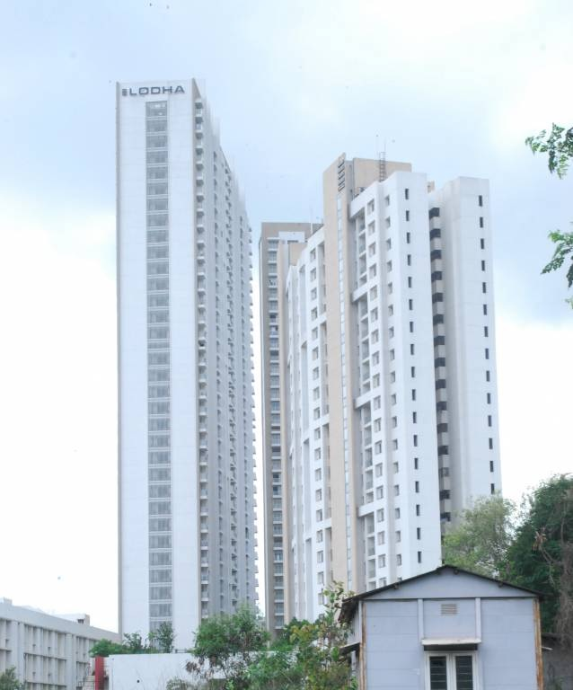 lodha aurum project tower view2