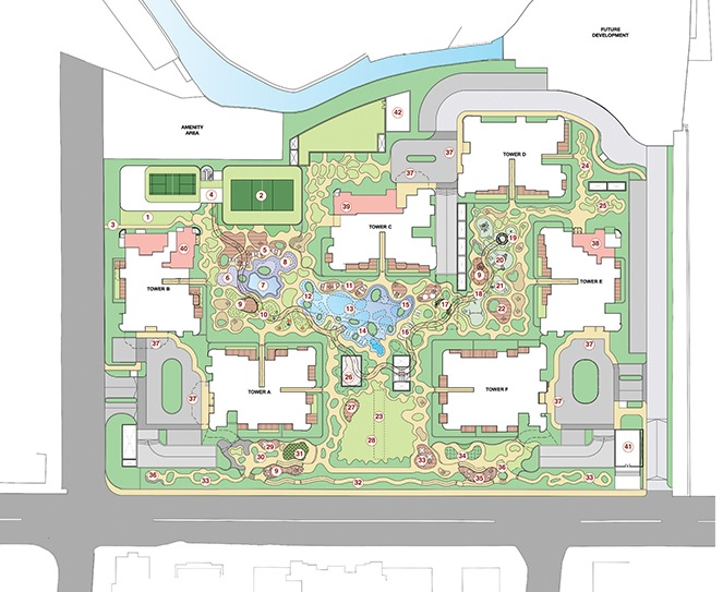 lodha bel air master plan image1