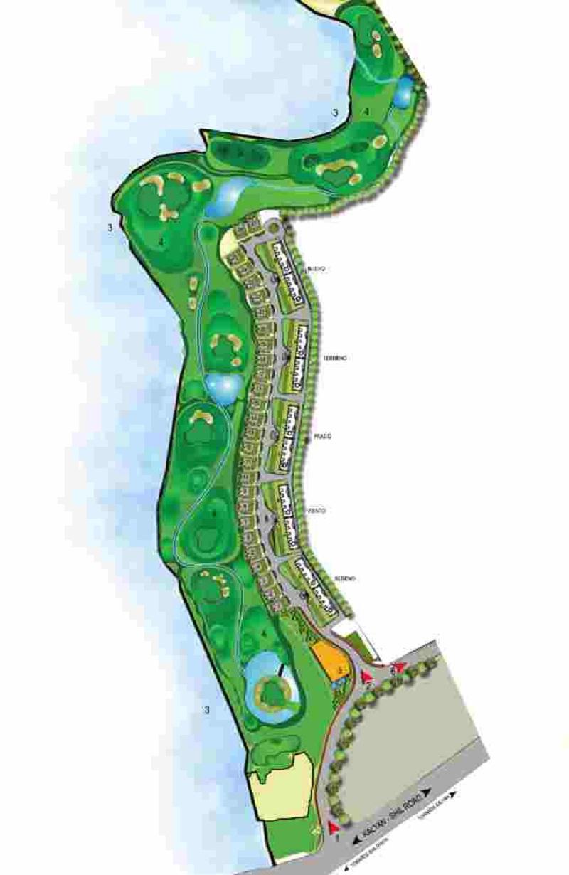 lodha golflinks villas project master plan image1