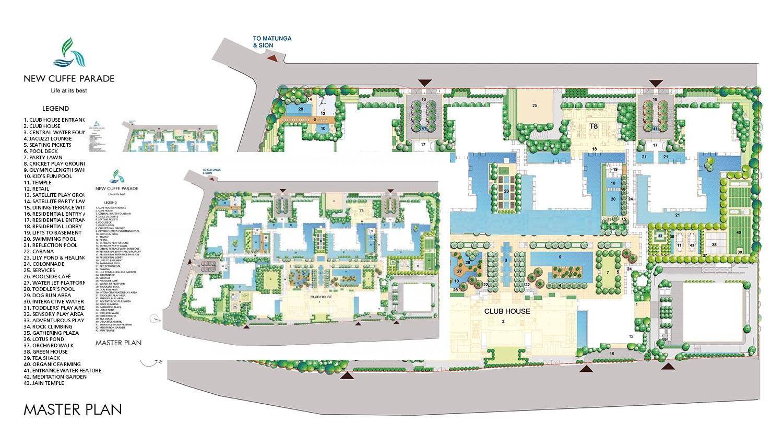 lodha new cuffe parade dioro and elisium  project master plan image1
