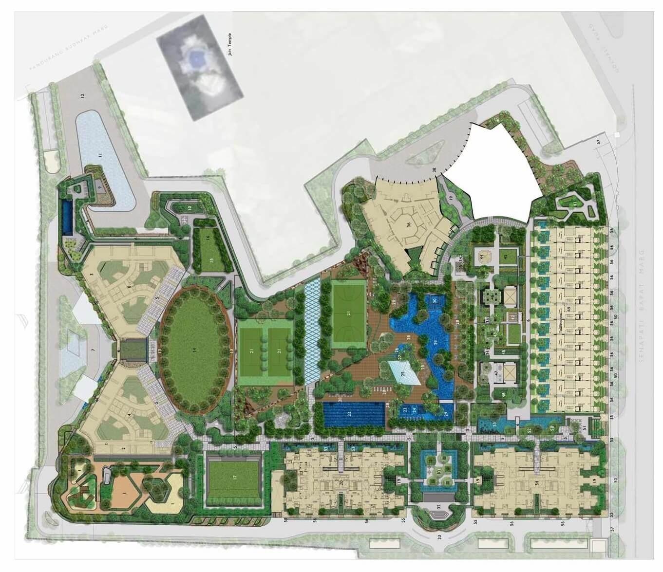 lodha parkside master plan image4