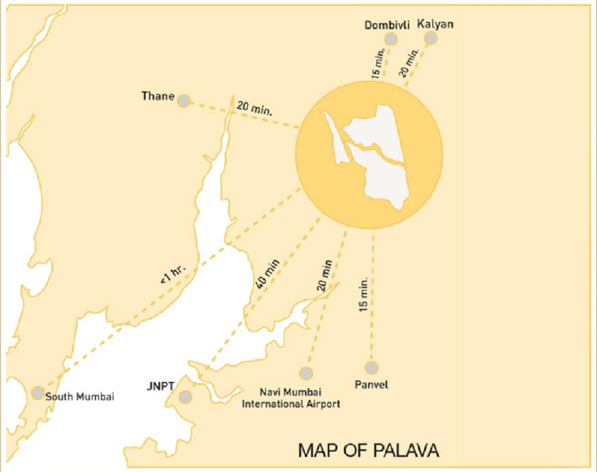 lodha prime square project location image1