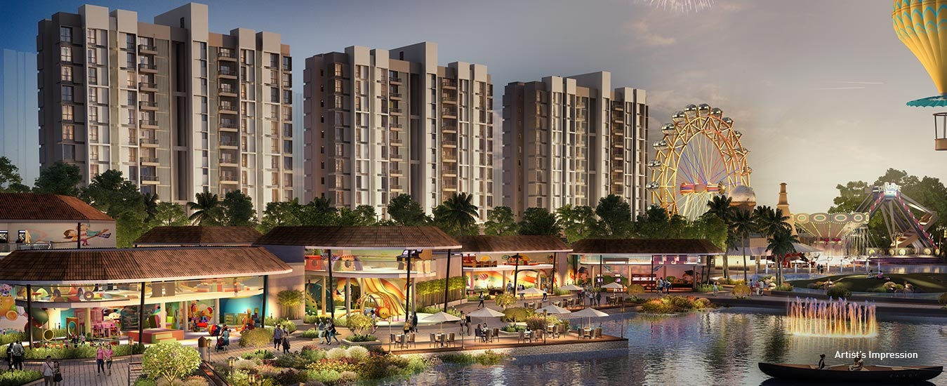 lodha prime square tower view4