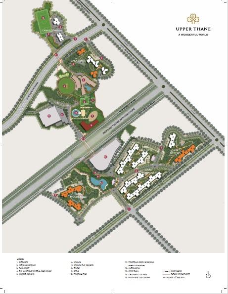 lodha upper thane tiara h master plan image17