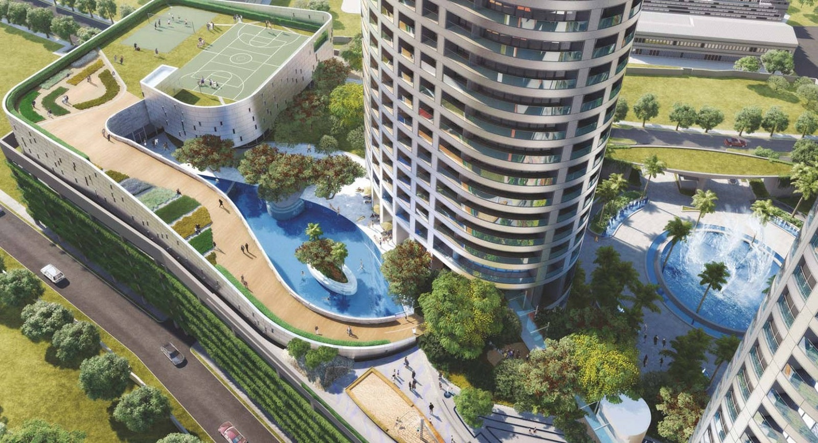 lodha world one project amenities features9