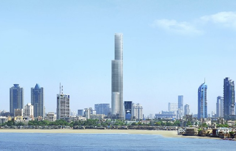 lodha world one project tower view2