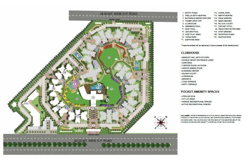 lodha world view master plan image1