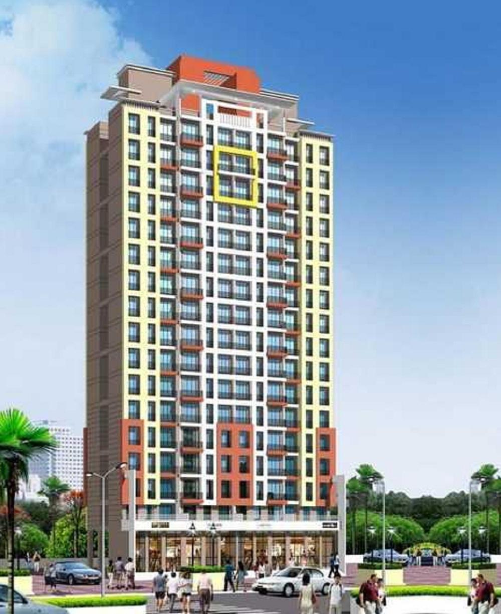 mahavir kanti dreams project tower view1