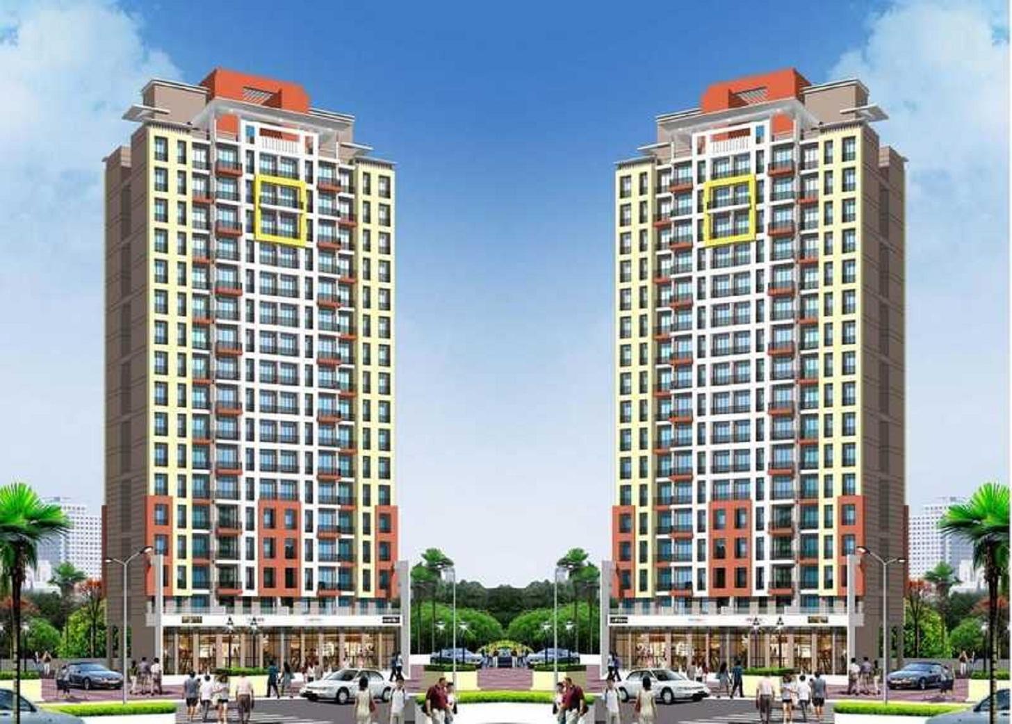 mahavir kanti dreams project tower view2