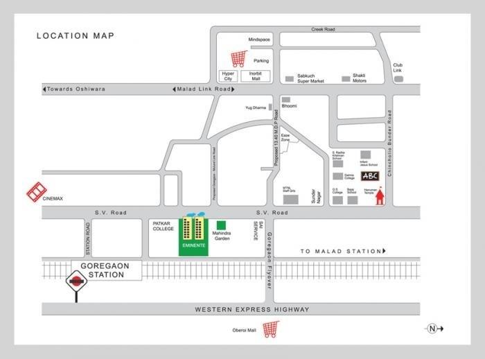 mahindra lifespaces eminente phase 3 project location image2