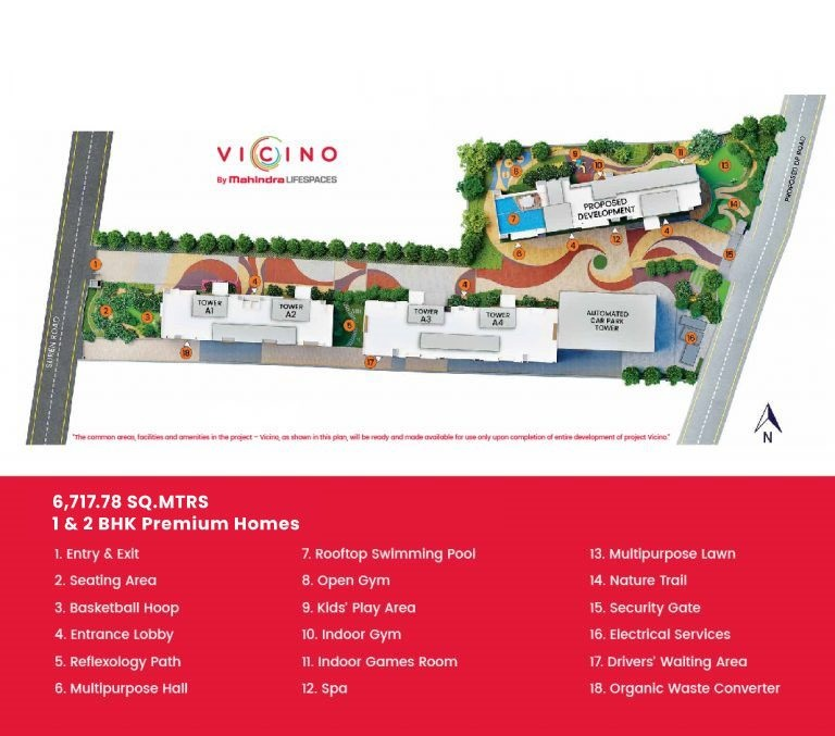 mahindra lifespaces vicino a1 a2 master plan image5
