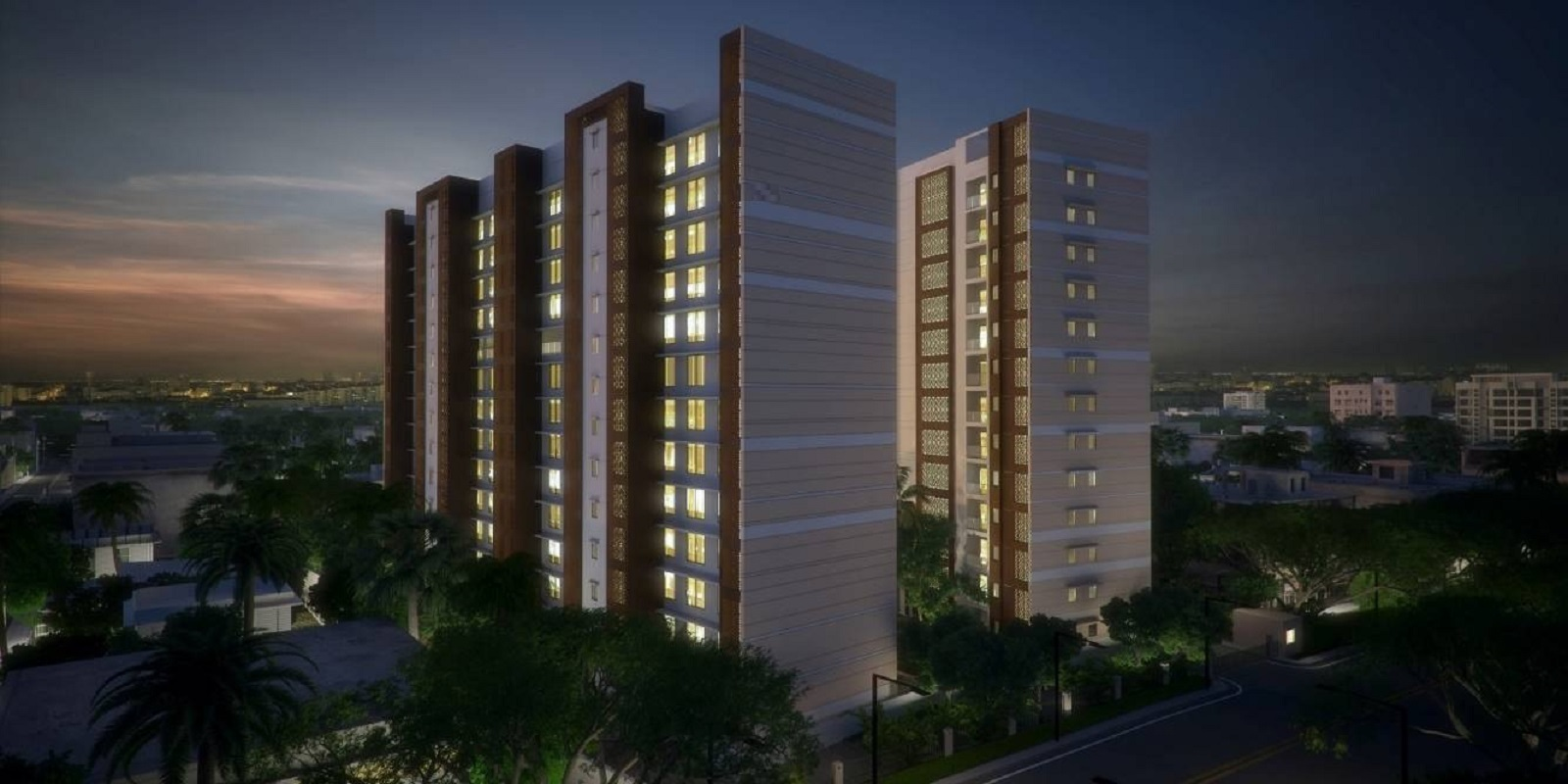 mahindra lifespaces vicino a1 a2 tower view4
