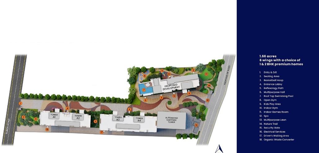 mahindra lifespaces vicino master plan image10