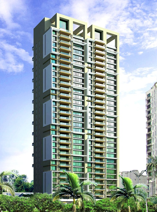 maithili emerald bay project tower view1