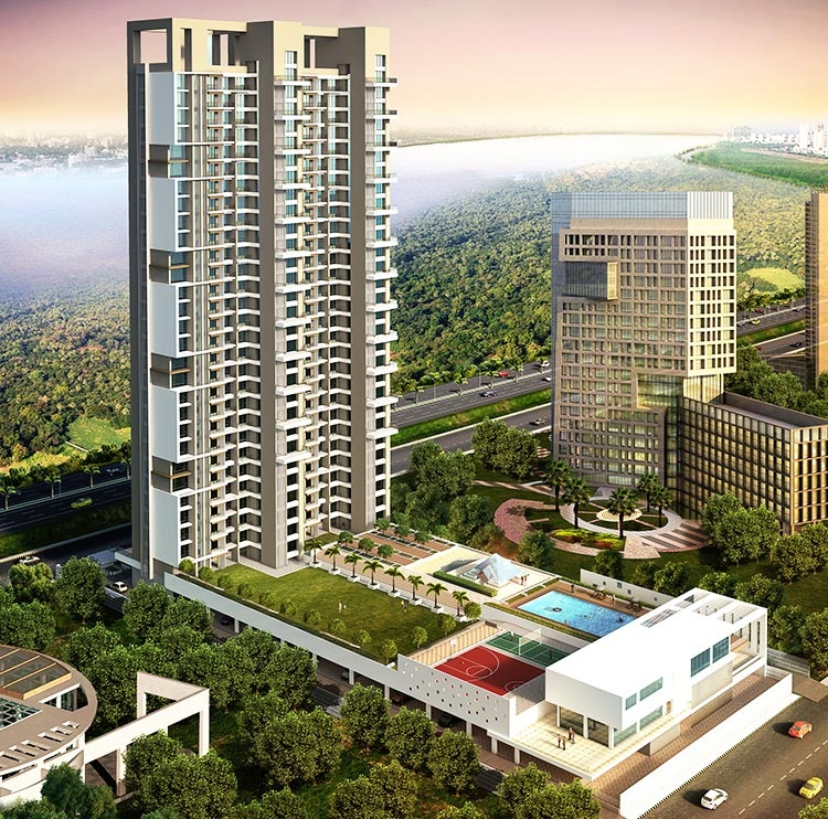 maithili emerald bay project tower view3