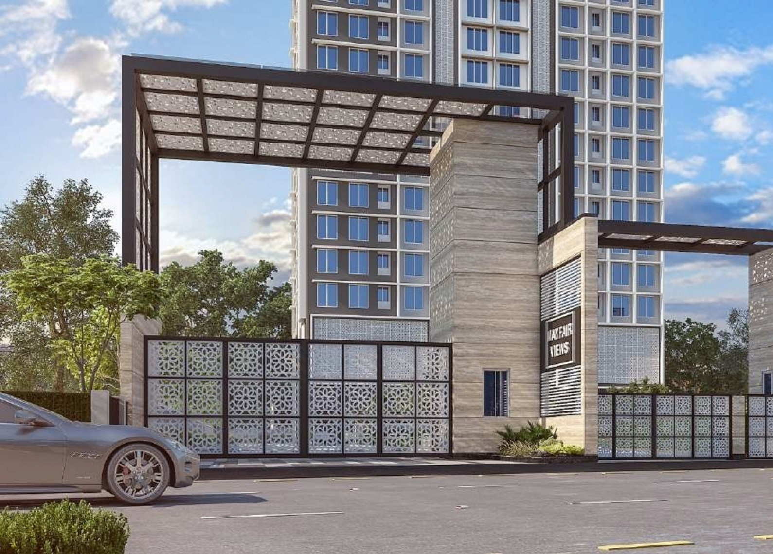 mayfair codename sara powai project entrance view1