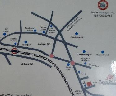 metro aangan location image1