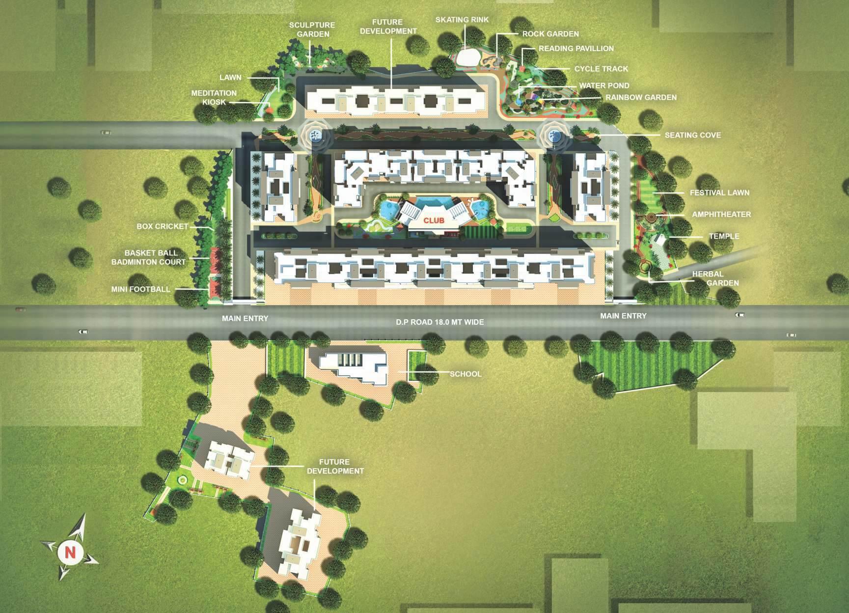 mohan nano estates master plan image1
