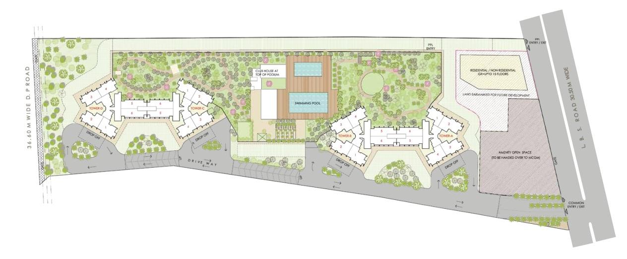 oberoi eternia project master plan image1