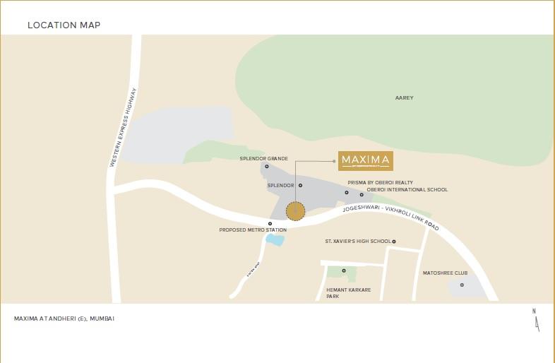 oberoi maxima location image4