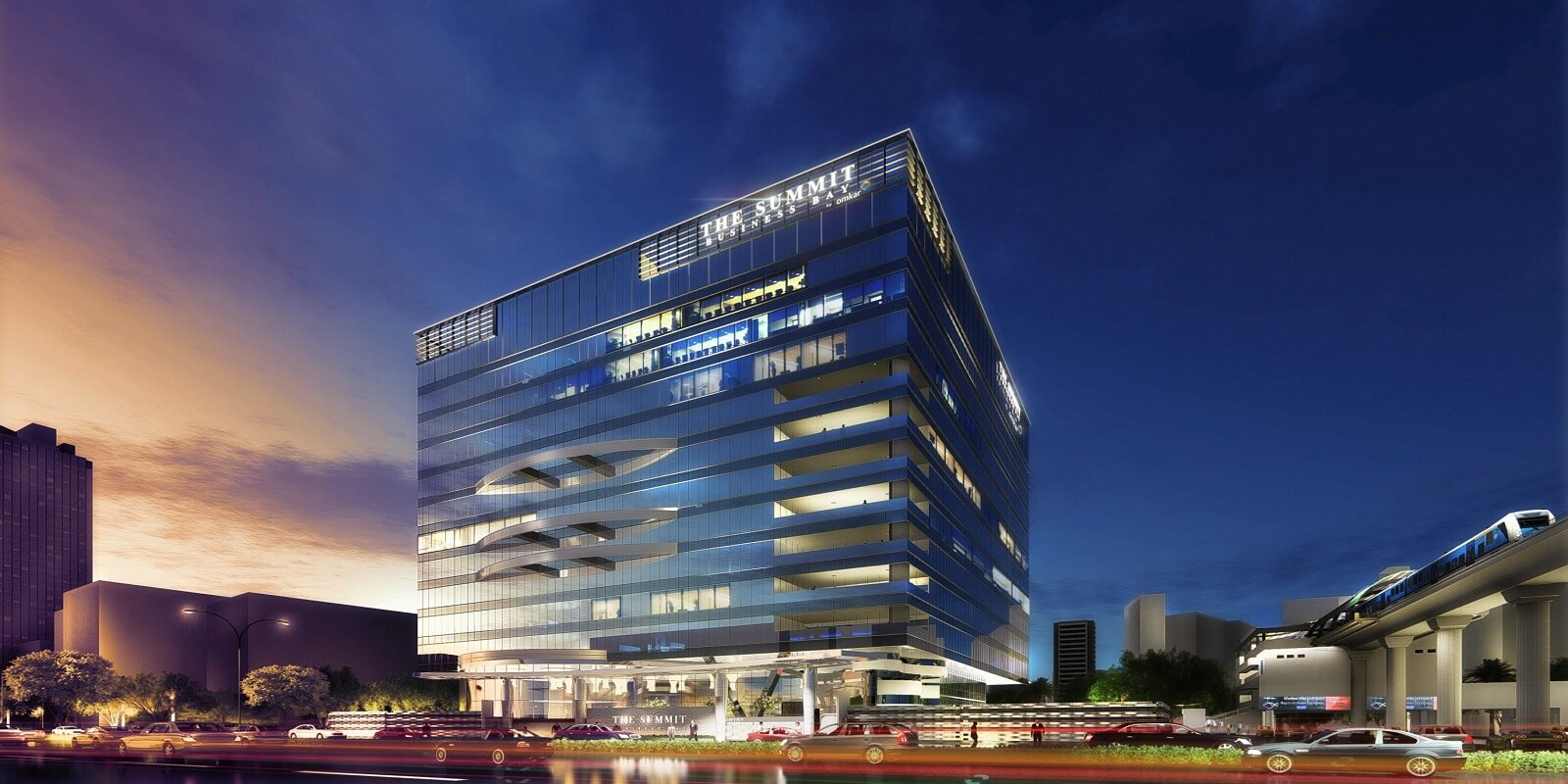 omkar the summit business bay project large image1