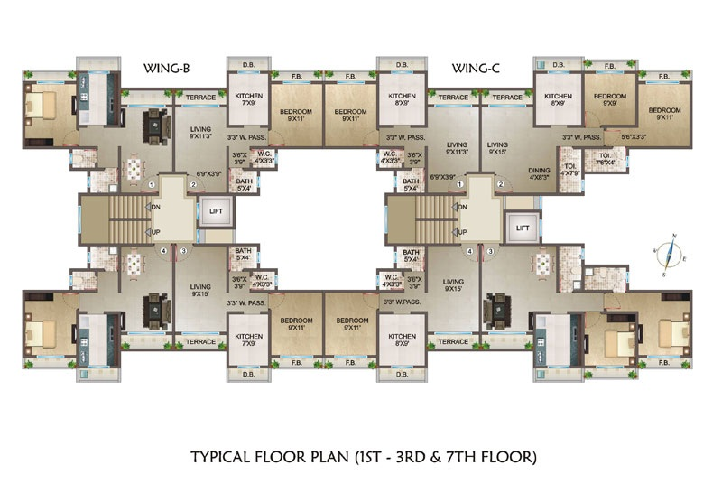 ornate classic project floor plans2