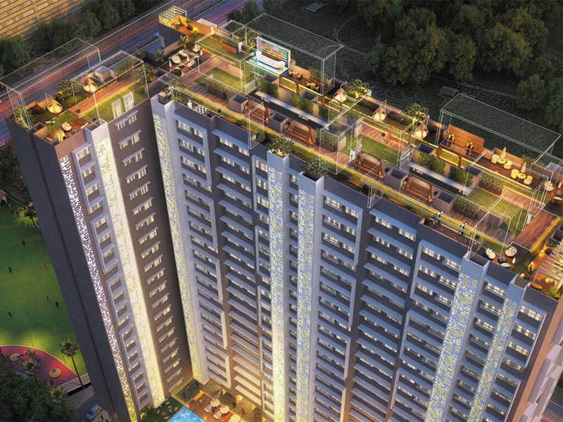 paradigm ananda residency project tower view1