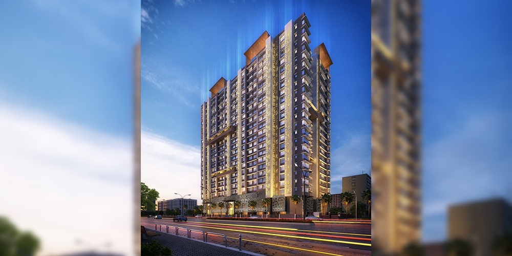 paradigm ananda residency project tower view2
