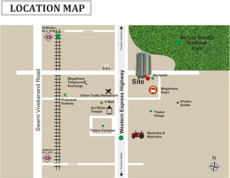 paradigm ariana residency location image2