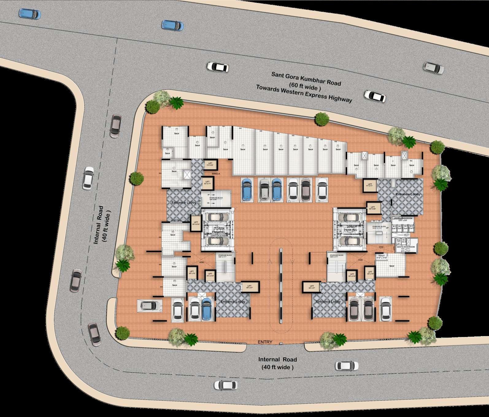 paradigm ariana residency project master plan image1