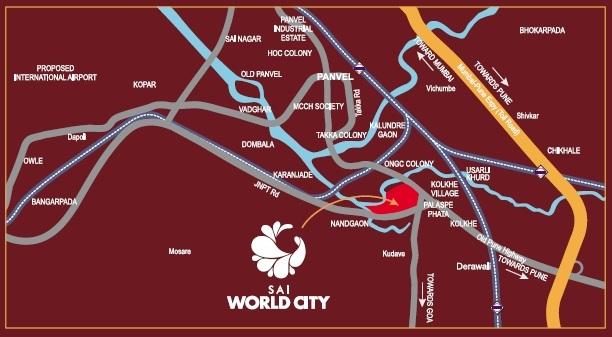paradise lifespaces sai world city location image6