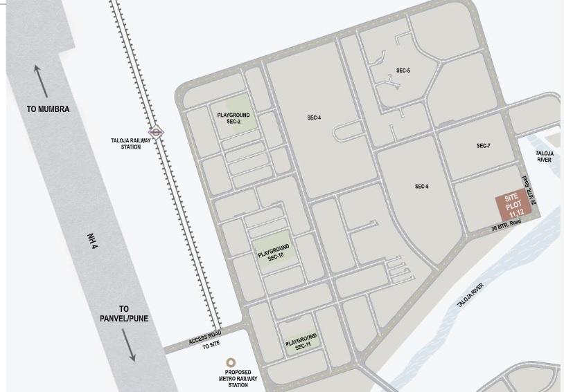 paradise sai riverdale project location image1