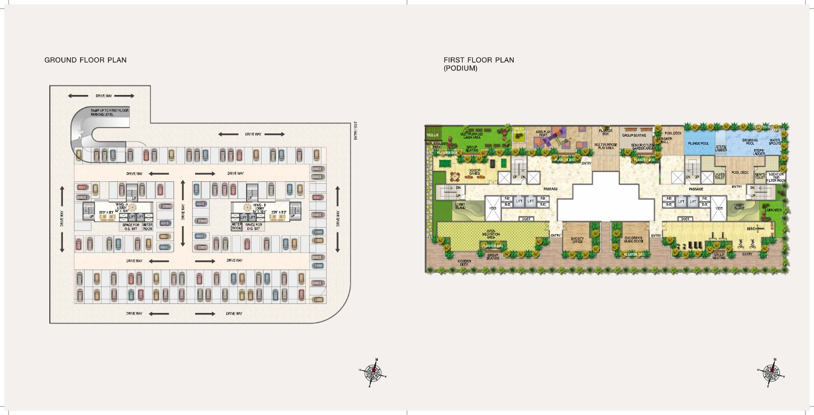 paradise sai riverdale project master plan image1