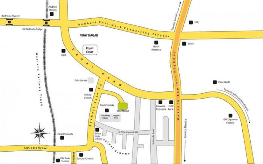 paranjape geetanjali project location image1
