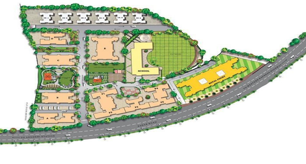 paranjape royal court project master plan image1