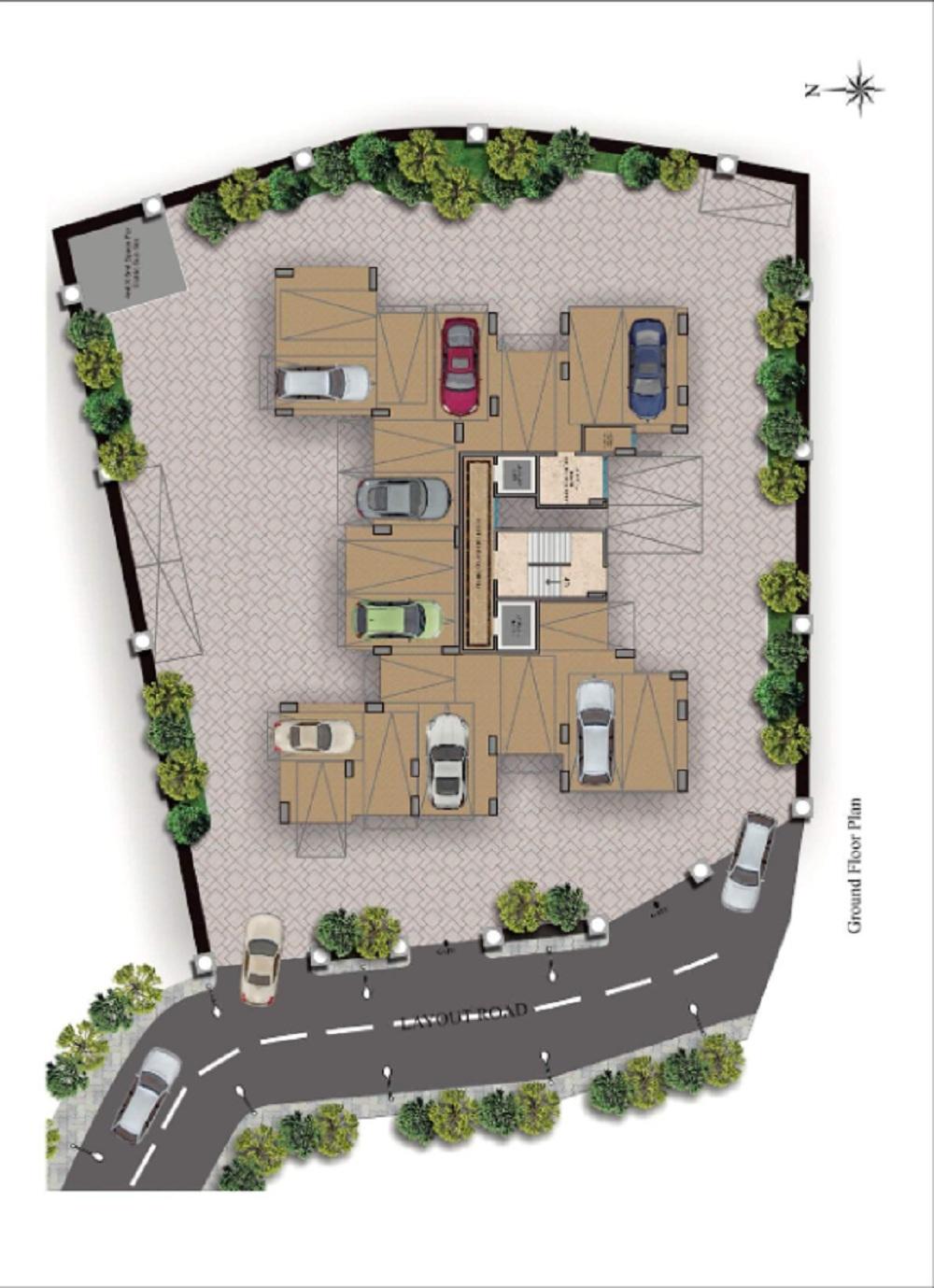 paranjape schemes geetanjali project master plan image1