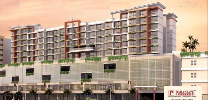 paranjape schemes royal court project tower view1